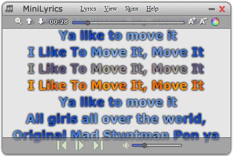 Menampilkan Lirik pada Media Player
